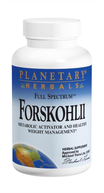 PLANETARY HERBALS: Full Spectrum Forskohlii 30 Caps