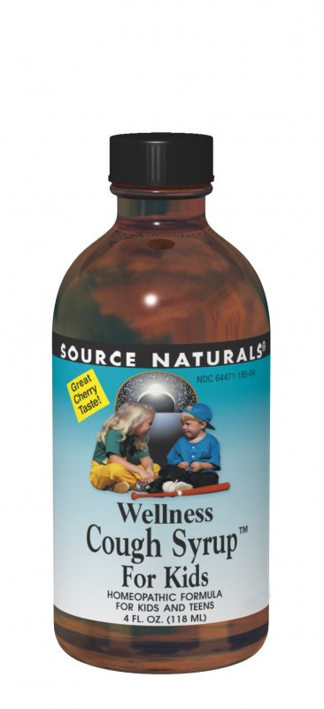 SOURCE NATURALS: Wellness Cough Syrup for Kids 8 fl oz