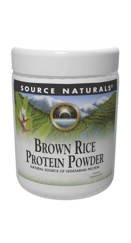 SOURCE NATURALS: Brown Rice Protein Powder Organic 16 oz