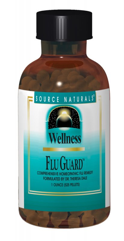 SOURCE NATURALS: WELLNESS FLU GUARD 1OZ PELLETS