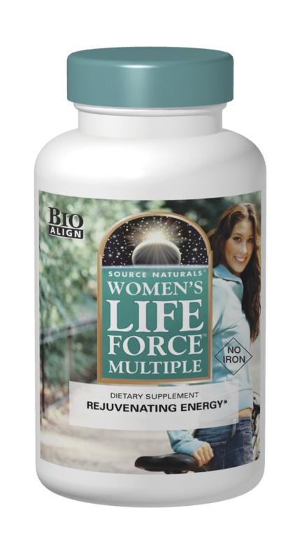 SOURCE NATURALS: Womens Life Force Multiple Without Iron 90 Tabs