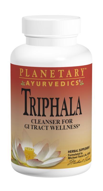 Triphala traditional ayurvedic purifier