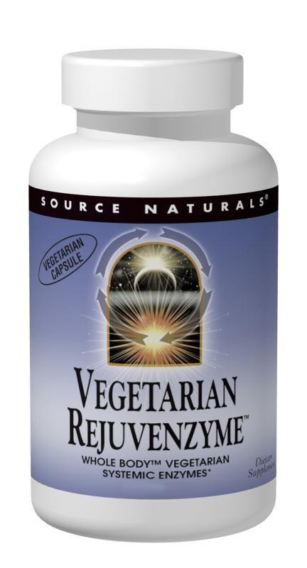 Source Naturals: RejuvenZyme Vegetarian Whole-Body Enzymes BIO-ALIGNED 180 veg caps