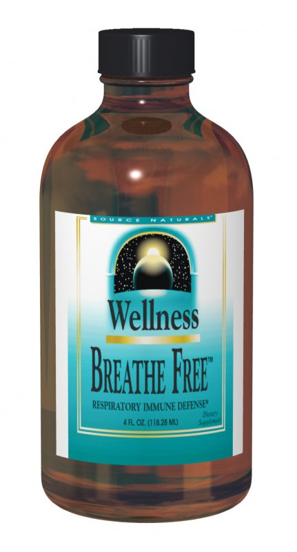 SOURCE NATURALS: Wellness Easy Breath Syrup 4 fl oz