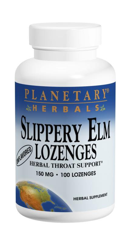 Slippery Elm Lozenges, 24 tabs