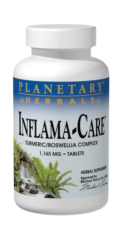 PLANETARY HERBALS: Inflama-Care 60 tabs