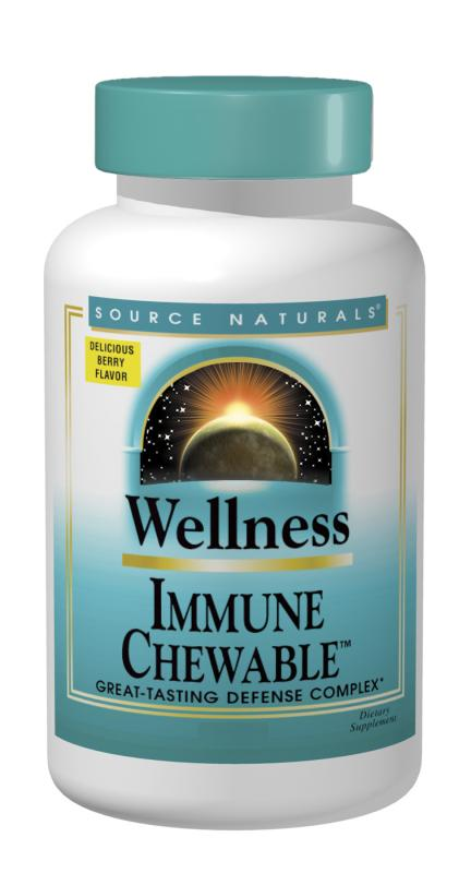 SOURCE NATURALS: Wellness Immune Chewable 60 wafers
