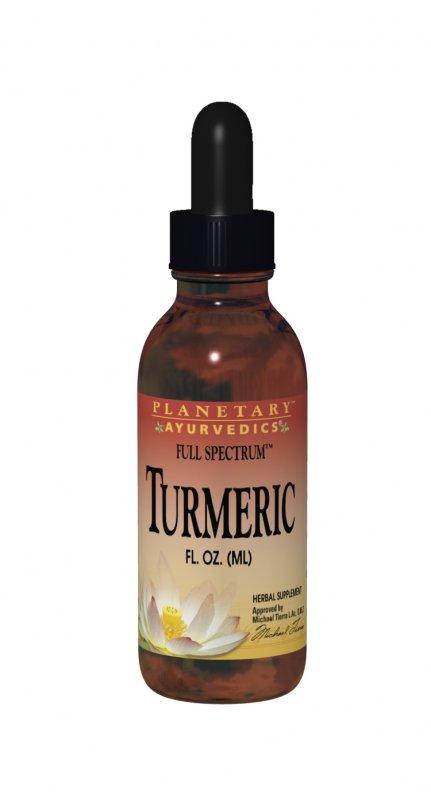 PLANETARY AYURVEDICS: Turmeric Liquid Full Spectrum 1oz
