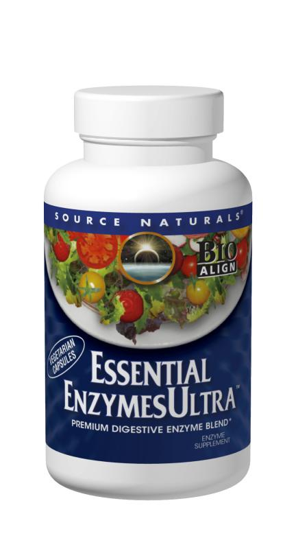 SOURCE NATURALS: Essential Enzymes Ultra 120 veg caps