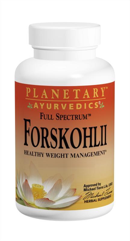 PLANETARY HERBALS: Forskohlii Full Spectrum 130mg (Ayurvedic) 60 CAP