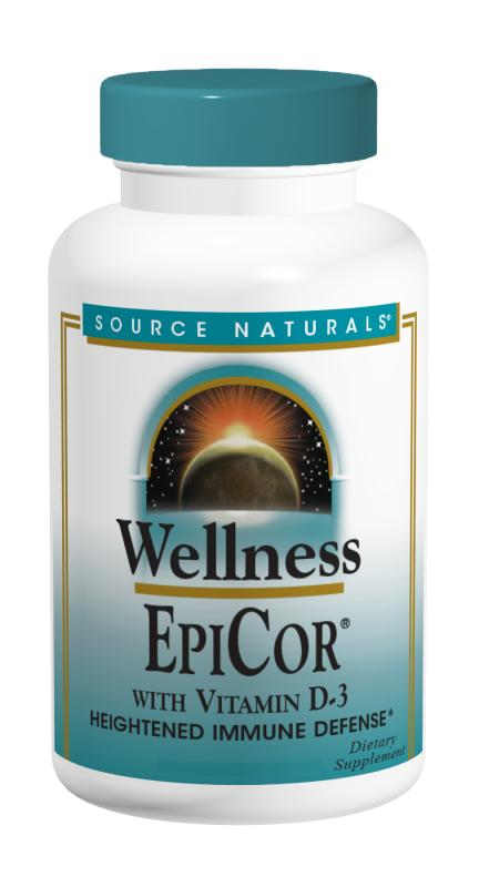 SOURCE NATURALS: EPICOR WITH VITAMIN D-3 120C 120 cap