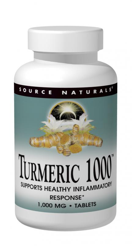 Turmeric 1000 95% Curcumin With Black Pepper, 60 tabs