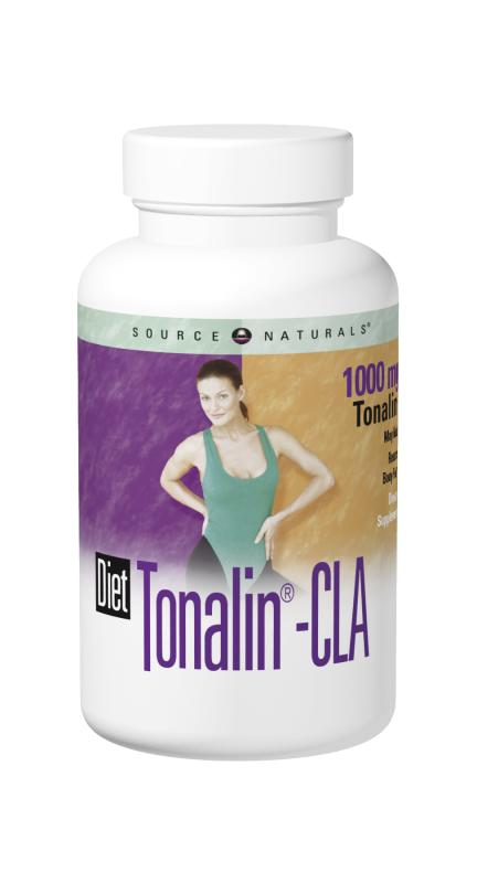 SOURCE NATURALS: Diet Tonalin CLA 1000 mg 30 SG