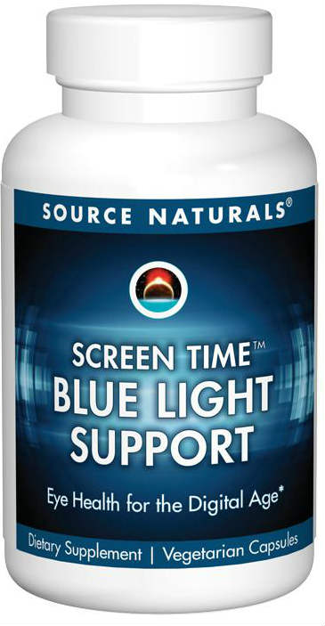 Source Naturals: Screen Time Blue Light Support 30 vc