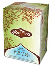 Yogi teas/golden temple tea co: Green tea slim life tea 16 bags