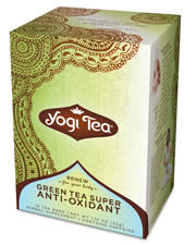 Yogi Super Anti-Oxidant Green Tea, 16 bags