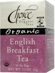 CHOICE ORGANIC TEAS: English Breakfast 16 bag