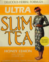 HOBE LABS: Ultra Slim Tea Honey Lemon 24 bags