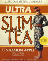HOBE LABS: Ultra Slim Tea Cinnamon Apple 24 bags