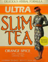 HOBE LABS: Ultra Slim Tea Orange Spice 24 bags