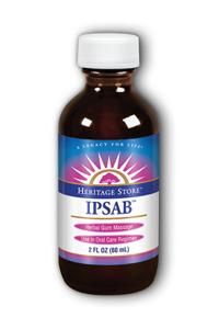 HERITAGE PRODUCTS: Ipsab Herbal Gum Treatment 2 oz