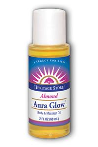 HERITAGE PRODUCTS: Aura Glow Skin Lotion Almond 2 fl oz