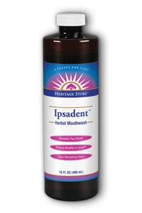 HERITAGE PRODUCTS: Ipsadent Herbal Mouthwash 16 fl oz