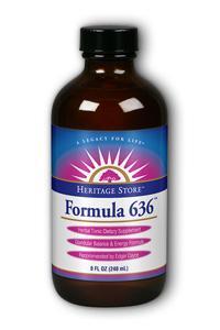 HERITAGE PRODUCTS: Formula 636 Energy Tonic 8 fl oz
