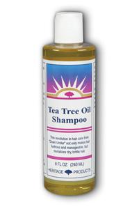 HERITAGE PRODUCTS: Tea Tree Shampoo 8 fl oz