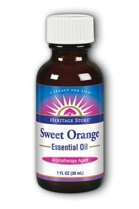 HERITAGE PRODUCTS: Sweet Orange Oil 1 fl oz