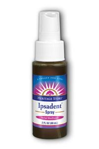 HERITAGE PRODUCTS: Ipsadent Oral Spray 2 oz