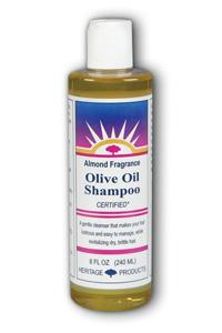 Heritage products: Olive oil shampoo almond 8 fl oz