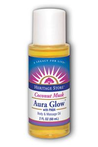 HERITAGE PRODUCTS: Aura Glow-Coconut 2 oz