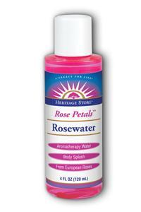 HERITAGE PRODUCTS: Rosewater 4 oz