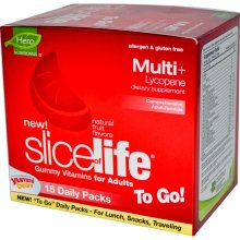YUMMI BEARS (HERO NUTRITIONAL PRODUCTS): Slice of Life Multi Daily Packs 15 pkt