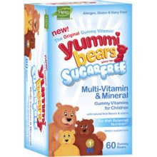 YUMMI BEARS (HERO NUTRITIONAL PRODUCTS): YUMMI BEAR SUGAR FREE MULTI MINERAL 60CT