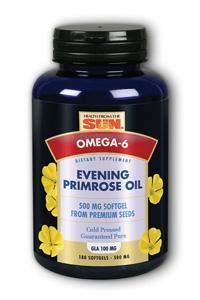 HEALTH FROM THE SUN: Evening Primrose Oil Hexane Free 180 caps