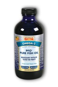 HEALTH FROM THE SEA: PFO™ (Pure Fish Oil) 8 oz