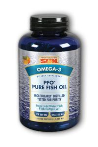 HEALTH FROM THE SEA: PFO™ (Pure Fish Oil) 180 softgels