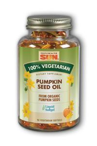 100 Percent Vegetarian Pumpkin Seed Oil, 90 softgels