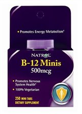 NATROL: B-12 Mini's 500 MCG Dots 100 CT