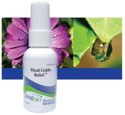 KING BIO: HEADS COLD RELIEF 2OZ