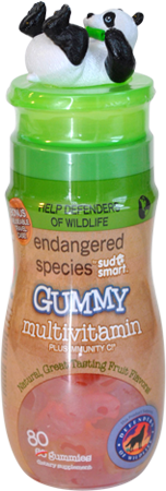 HEALTH SCIENCE: ES CHILD GUMMY MULTIVITAMIN GIANT PANDA 80CT
