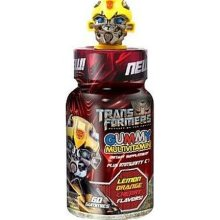 HEALTH SCIENCE: TRANSFORMER GUMMY KID MULTIVITAMIN YELLOW TOP 60CT