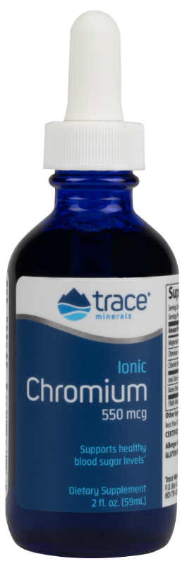 Trace Minerals Research: Liquid Ionic Chromium 2 oz. 48 day supply