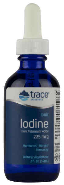 Liquid Ionic Iodine from Potassium Iodide, 2 oz.