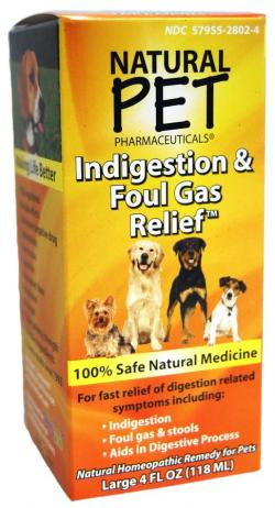 KING BIO: NATURAL PET DOG INDFOUL GAS RELIEVER 4OZ