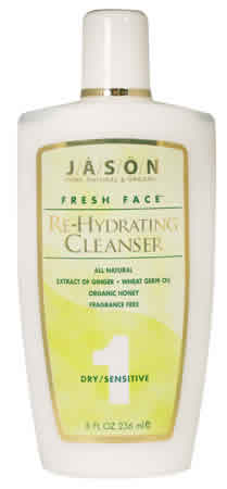 JASON NATURAL PRODUCTS: Fresh Face Rehydrating Cleanser 8 fl oz