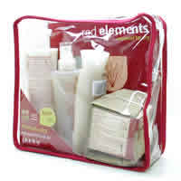 JASON NATURAL PRODUCTS: Red Elements Normal to Dry Skin Travel Kit 6 pc