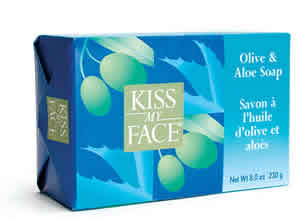 KISS MY FACE: Bar Soap Olive & Aloe 8 oz